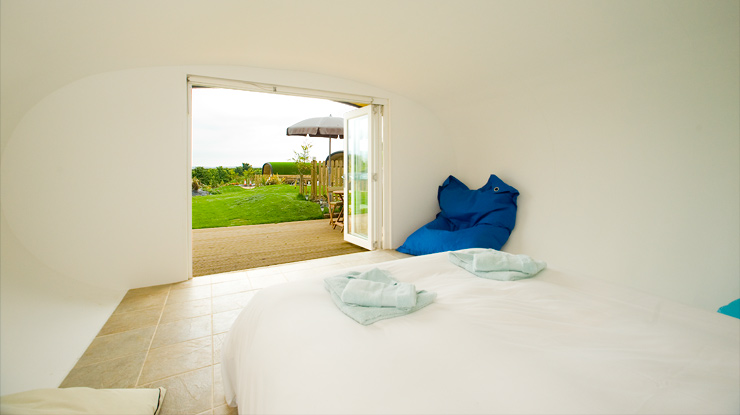 Glamping in a Surf Pod at Bude in Cornwall