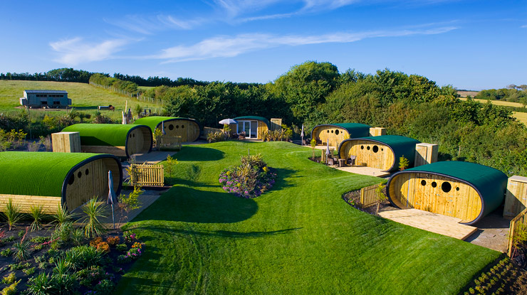 Glamping Pods in North Cornwall