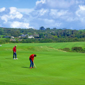 Golf at Bude